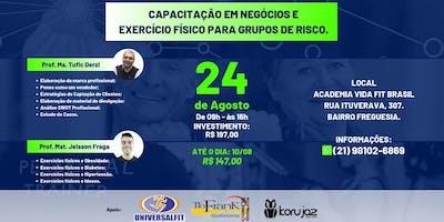 PERSONAL TRAINER: Capacitação em Negócios e Exercício Físico p/ Grupos de Risco