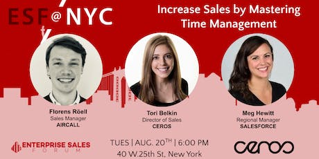 Increase Sales by Mastering Time Management tickets