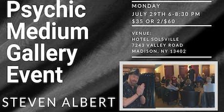 Steven Albert: Psychic Medium Gallery Event - HotelSolsville 7/29 tickets