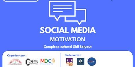 Social Media Motivation billets