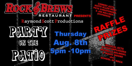 Rock and Brews Present - Party on the Patio - Raymond Scott Productions tickets
