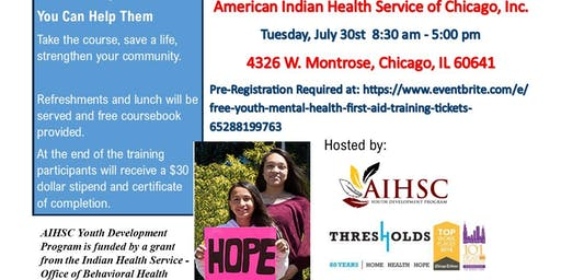 FREE Youth Mental Health First Aid Training