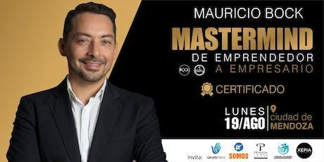MASTERMIND con MAURICIO BOCK entradas