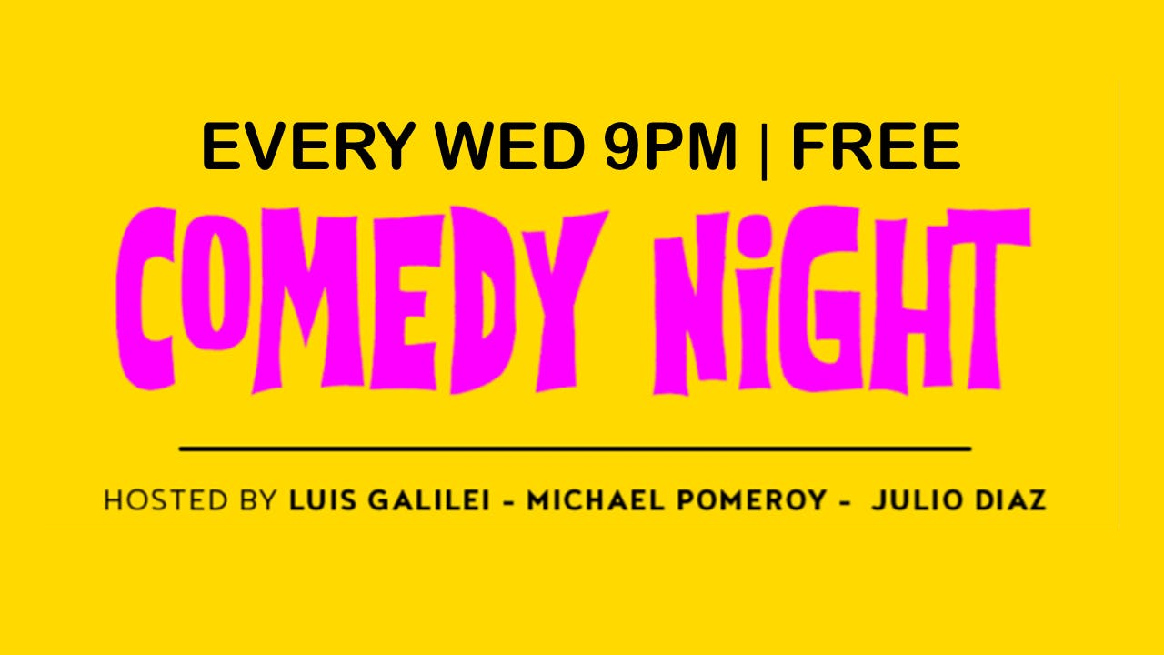 Comedy Night at Baby Brasa