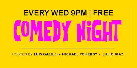 Comedy Night at Baby Brasa tickets