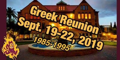 ASU Greek Reunion: Mid-Life College Bash 9/19/19 - 9/22/19-RSVP Now!!!