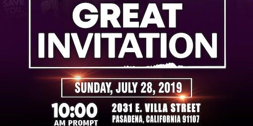 Church on Sunday - The Great Invitation