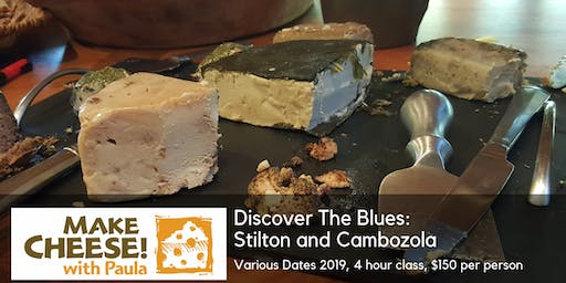 Cheesemaking: Stilton and The Blues