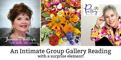 An Intimate Group Gallery Reading With Patsy Seay Dollar & Janna Phillips tickets