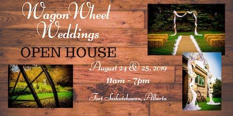 WagonWheel Weddings Open House tickets