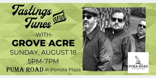 Live Music - Tastings & Tunes w/ Grove Acre