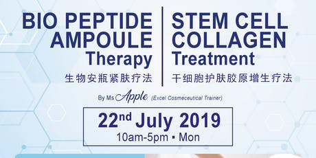 Stem Cell Collagen Treatment & Bio Peptide Ampoule Therapy tickets