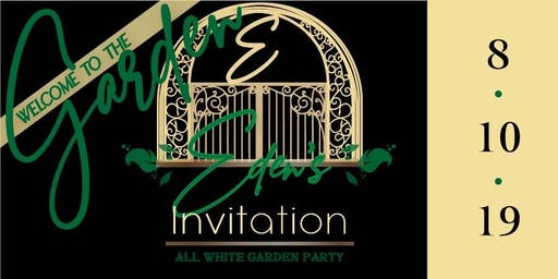 Eden's Invitation - All White Garden Party