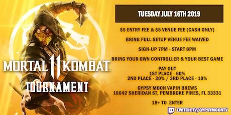 Mortal Kombat 11 Tournament tickets