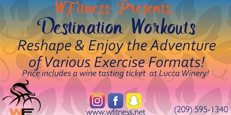 WFitness Destination Workout#3 tickets