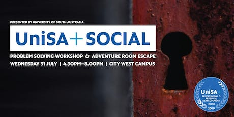 UniSA+ Social: Adventure Room tickets