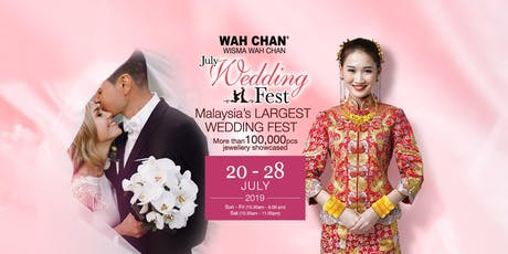 Wah Chan July Wedding Fest 2019 tickets