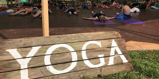 Yoga Class at Rivercamp