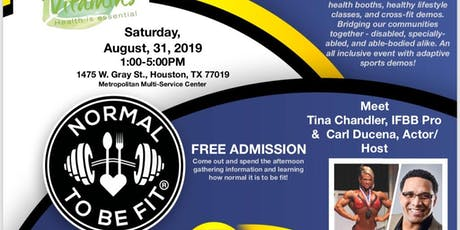 NORMAL TO BE FIT® Expo and Education Day, Houston 2019 tickets