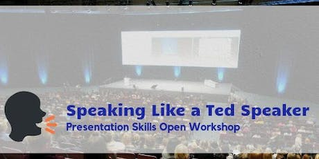 Speaking Like a Ted Speaker in Hong Kong (Oct 2019) tickets