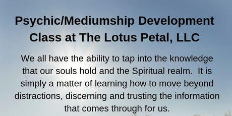 Psychic/Mediumship Development Class tickets