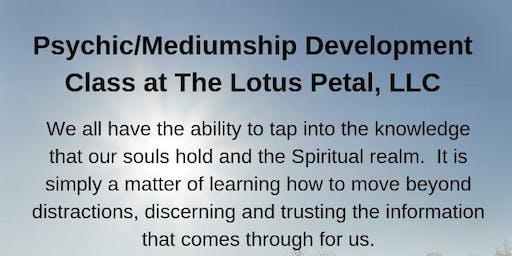 Psychic/Mediumship Development Class