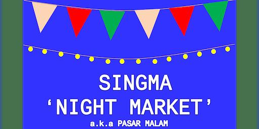 2019 SingMa Night Market A.K.A Pasar Malam