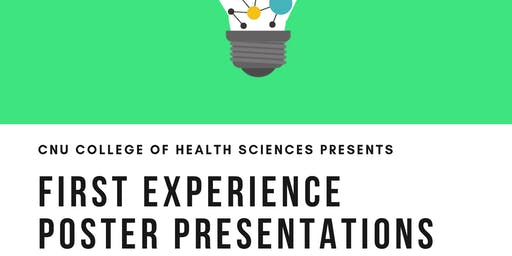 FIRST Student Poster Presentations