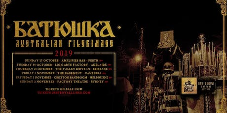 Batushka Australian Tour 2019 tickets