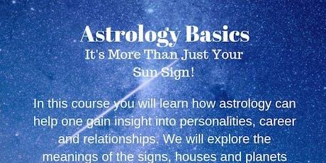 Astrology Basics tickets