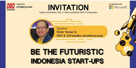 Be The Futuristic Indonesia Start-Ups tickets