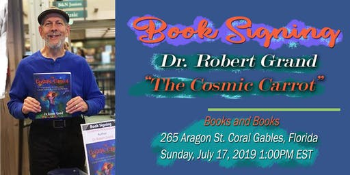 The Cosmic Carrot Book Signing