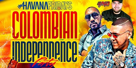 COLOMBIAN INDEPENDENCE PARTY w/ DJ PEREIRA this FRIDAY @COCO HAVANA HOBOKEN tickets
