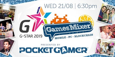 G-STAR Games Mixer 2019 presented by Pocket Gamer