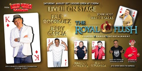 The Royal Flush Comedy, Dance & Entertainment Show starring Latin Kings of Comedy's Paul Rodriguez tickets