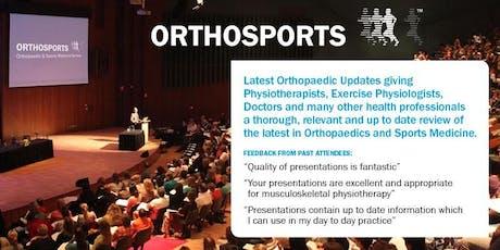 2019 Orthosports Latest Orthopaedic Updates tickets