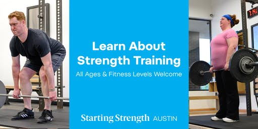 Gym Open House & Info Session at Starting Strength Austin