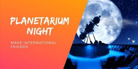 International Students going to Planetarium tickets