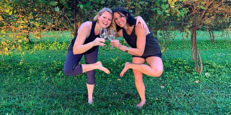 Wine and Yoga tickets