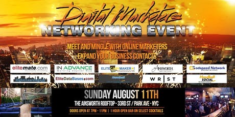 Digital Marketers Networking Event tickets