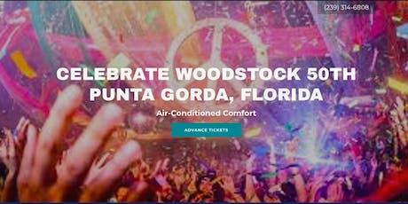 ☮️ Woodstock - Weekend in Punta Gorda (Air-Conditioned) tickets