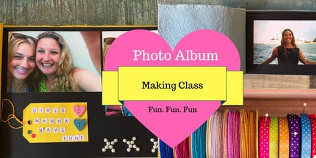 Photo Album Making Class tickets