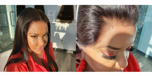 (HANDS-ON)Fundamentals of laying a lace wig BARBADOS