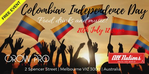 MELBOURNE  COLOMBIAN INDEPENDENCE DAY