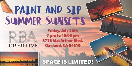Summer Sunsets Paint and Sip tickets