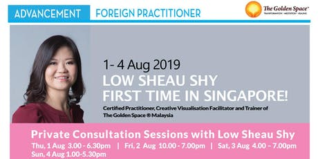 Heart Liberation Private Consultation with Low Sheau Shy tickets