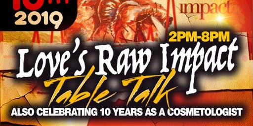 Love's Raw Impact Table Talk & Party
