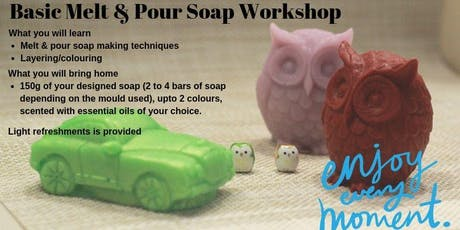 Melt and Pour Soap Making tickets