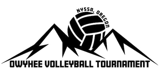 2nd Annual Owyhee Volleyball Tournament