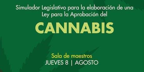 Simulador Legislativo para la elaboración de una Ley para la aprobación del Cannabis boletos